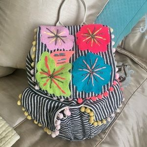 Beautiful Moroccan Embroidered Backpack